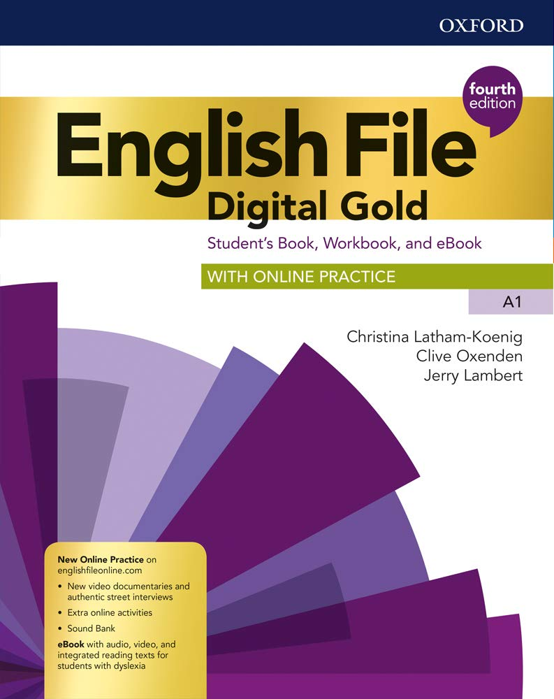 English file. Digital gold. A1. Students book & workbook with key ...