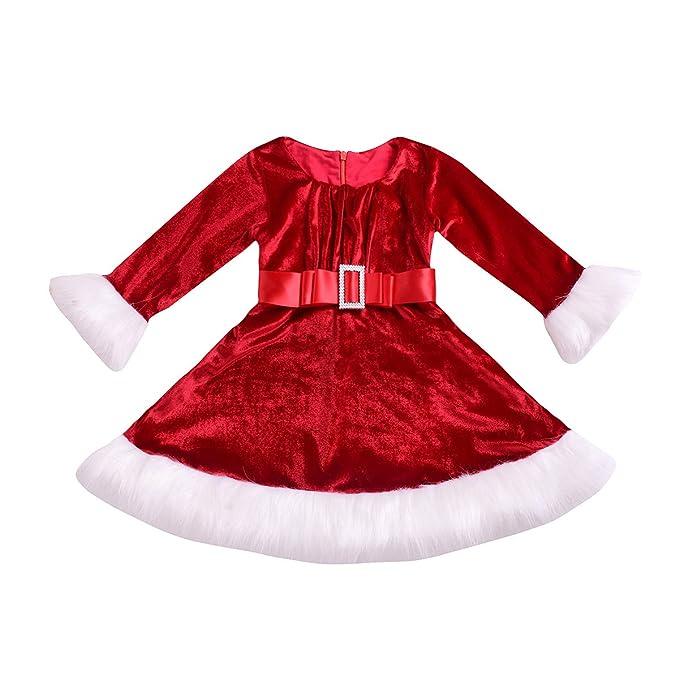 Amazon.com: GRNSHTS Vestido de Navidad para bebé, de ...
