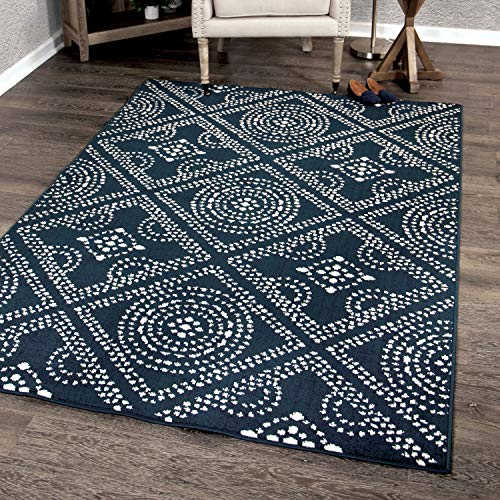 - Orian Rugs Farmhouse Sonoma Collection 409956 Indoor/Outdoor Camille Area Rug, 7'9