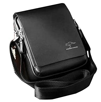 Amazon.com | Men's Shoulder Bag, Kangaroo | Messenger Bags