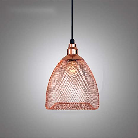 Luces colgantes de hierro de jaula de pájaros de diseño hueco para ...