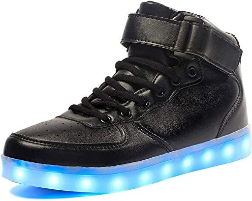 Lovers Unisex USB Charging LED Colors Lights Shoes Flashing Sneaker
