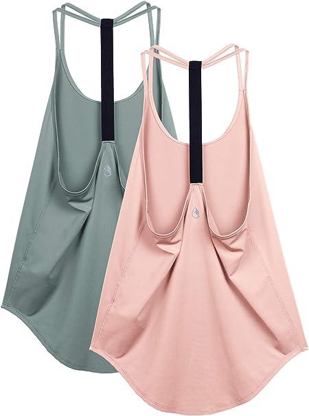 Amazon.com: icyzone - Camiseta de tirantes para mujer - Tops ...