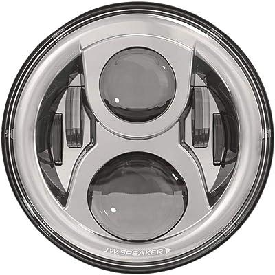 JW Speaker 8700 Ev2-S 12/24V Dot Headlamp Chr: Automotive