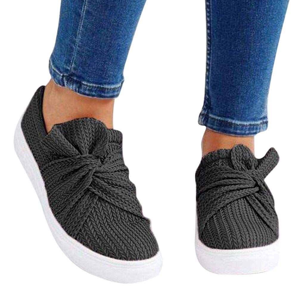 special section large discount lowest price Amazon.com: Fainosmny Womens Single Shoes Bowknot Casual ...