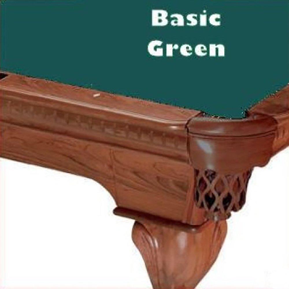 Prolineクラシック303テフロンビリヤードPool 8 Table Clothフェルト B00D37L9WA 8 Table ft.|Basic Green Basic Green ft. 8 ft., 上水内郡:517fd72a --- m2cweb.com