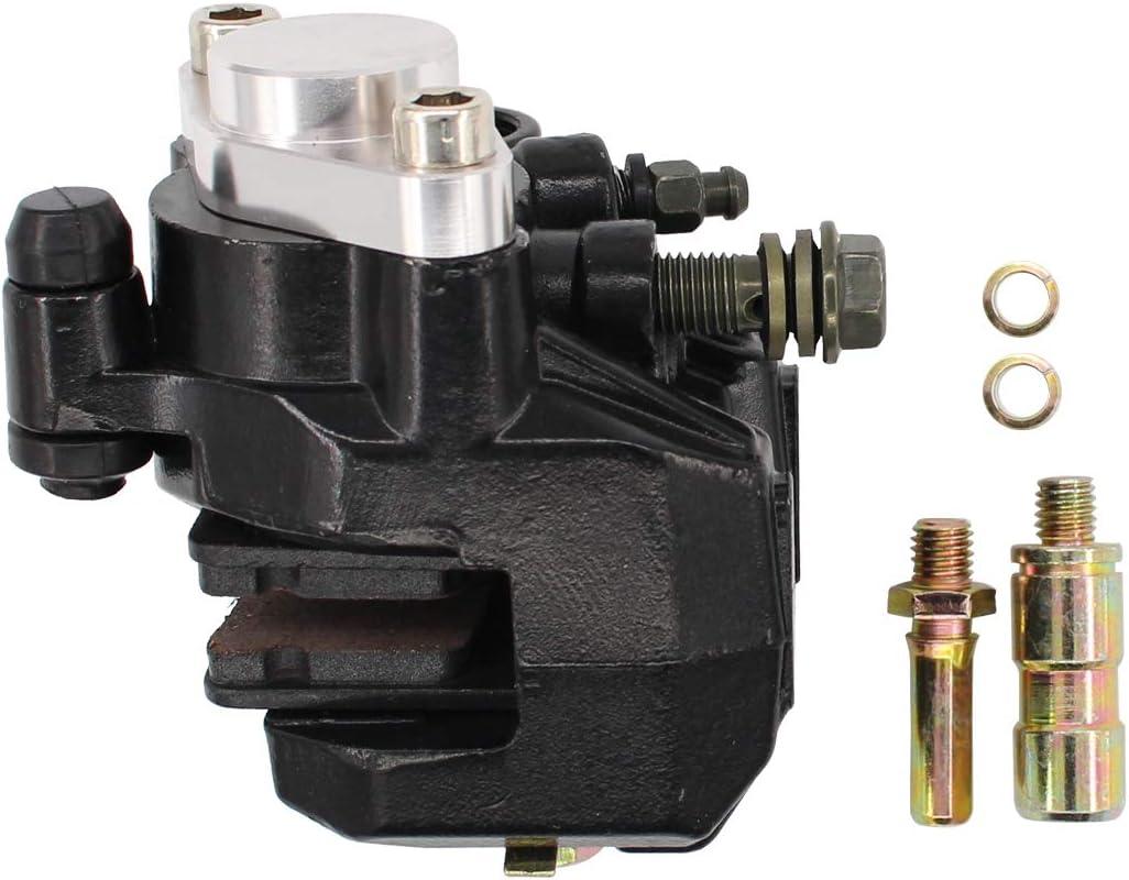 Shamofeng Calibrador de freno trasero para Suzuki Quadracer 250 LT250R con almohadillas 1985-1992