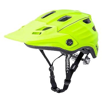 Kali Maya 2.0 - Casco de Bicicleta - Amarillo/Negro Contorno ...