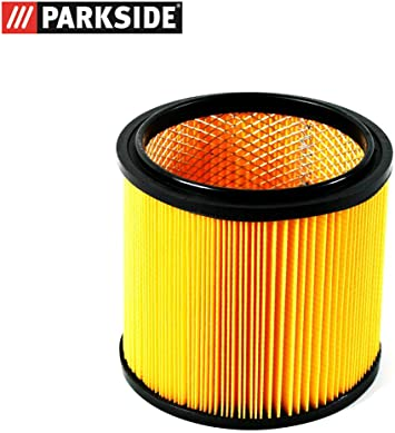 Grizzly Parkside Lidl filtro seco de pliegues con rejilla interior de acero para aspirador en seco y húmedo PNTS 23 E 1250 1300 A1 B2 C3 1400 A1 B1 C1 D1 1500