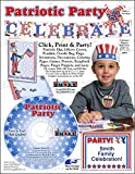 Scrapsmart - Patriotic Party Software Kit - Jpeg, Pdf, and Microsoft Word Files (CDPATPA170)