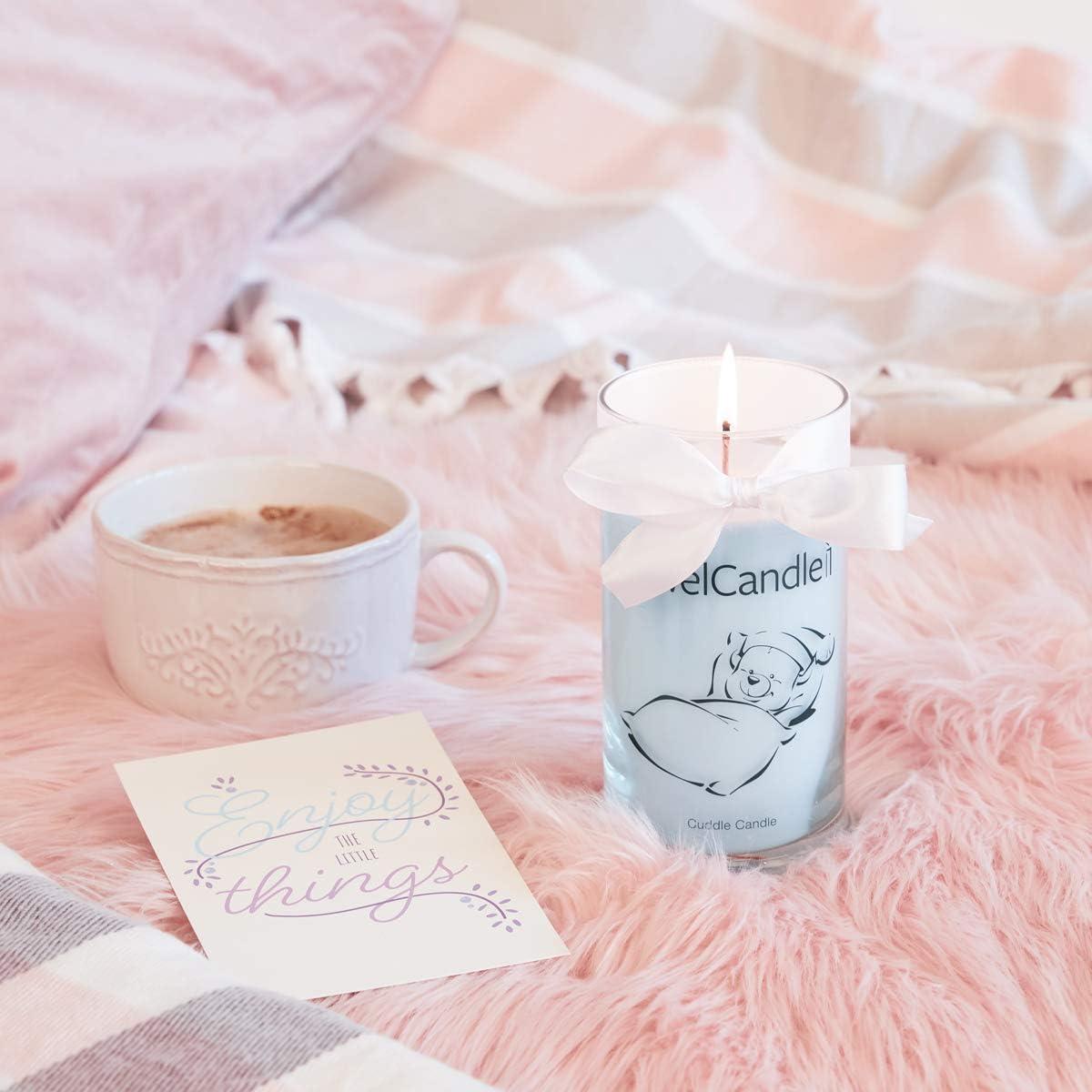 JewelCandle Cuddle Candle S Bague Bougie Parfum/ée avec Bijou Surprise en Argent