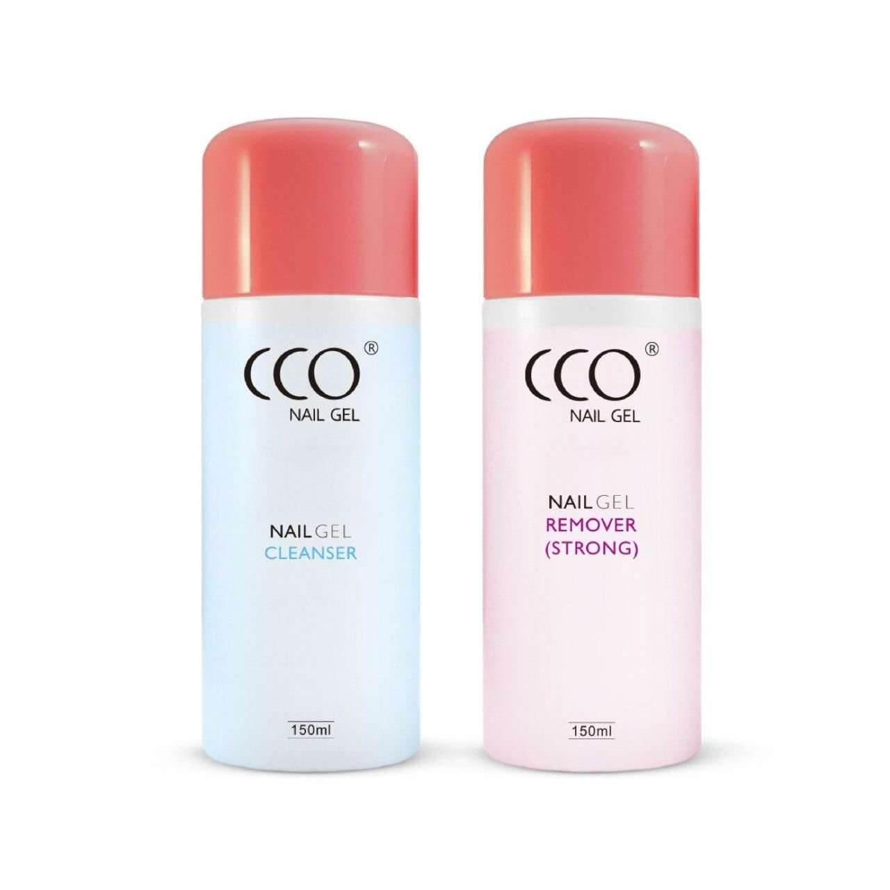 CCO UV LED Nail Gel Remover Cleanser Soak off 150ml 75ml Bottle (Cleanser + Remover (75ml))