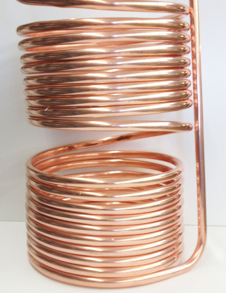 Quick Chill 50′ Copper 5/10 Split Immersion Chiller (1/2″ Tubing)