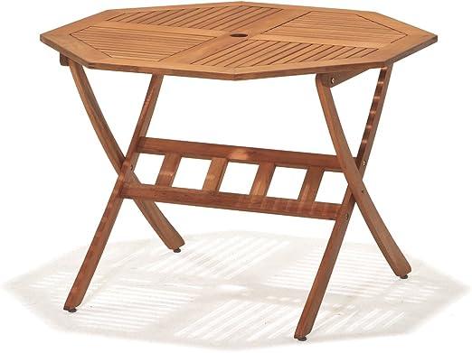 ScanCom 1155100000 Kingsbury Table octogonale avec Trou pour ...