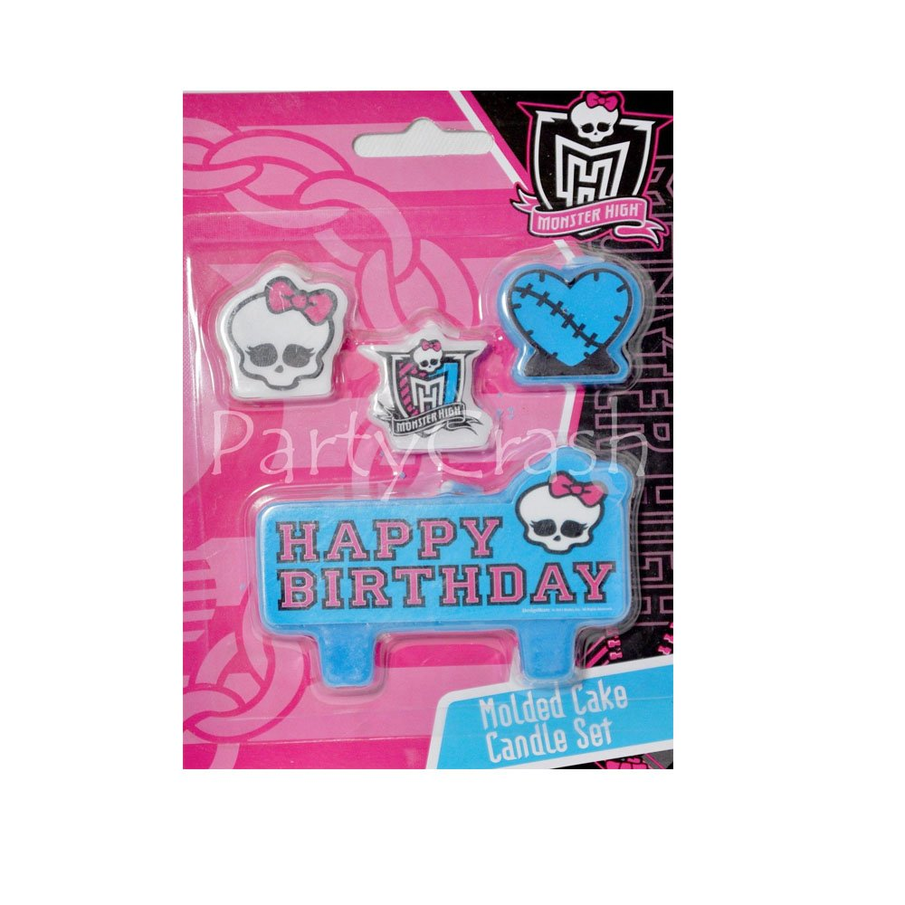 Amazon Monster High Cake Candles Birthday Set Decoration