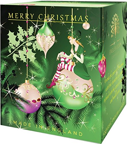 Luxurious Merry Christmas Elf Pure Soy Candle Made in England - Great Britian