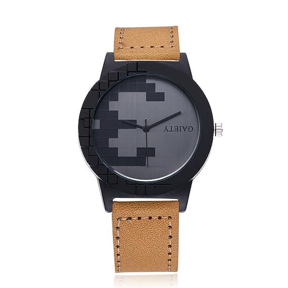 Negra M?nner Relojes Online M?nner Casual Quartz Alloy Glass nuevo sin etiquetas
