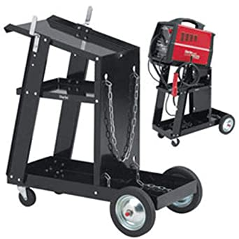 Clarke - Carro para soldador (acero, ruedas de alta resistencia)