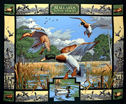 duck quilt panel - 9