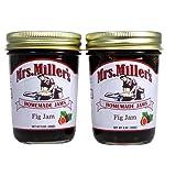 Mrs Millers Fig Jam (Amish Made) ~ 2 / 9 Oz. Jars