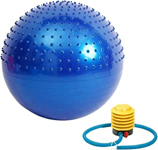 Bola de yoga de masaje con hemisferio Masaje Punto saliente ...