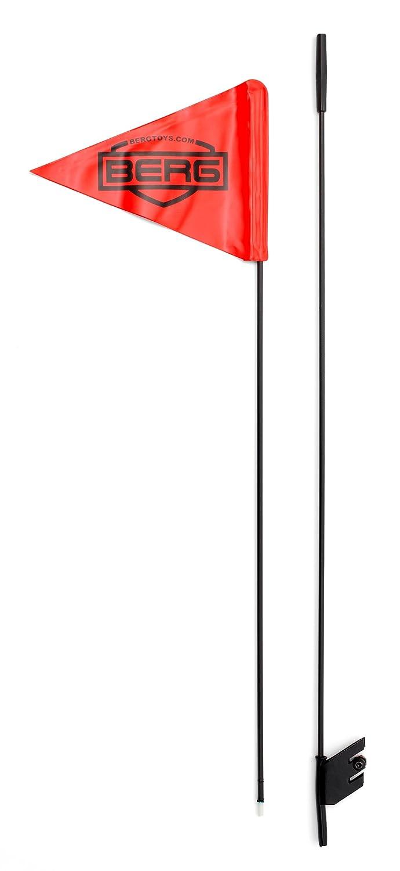 Berg Toys 16.99.42 - Banderín con Barra para Triciclo, Color Rojo ...