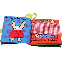 Soft Cloth Books,Baby Intelligence Development Learning & Education Toy (Baby)