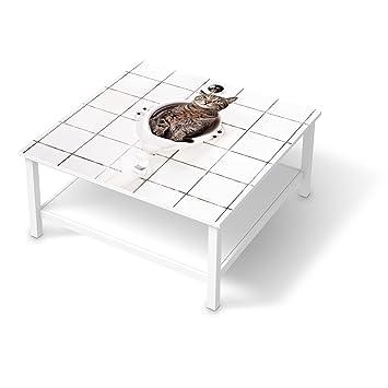 Couchtisch ikea hemnes  Möbelsticker für IKEA Hemnes Couchtisch 90x90 cm | Klebefolie ...