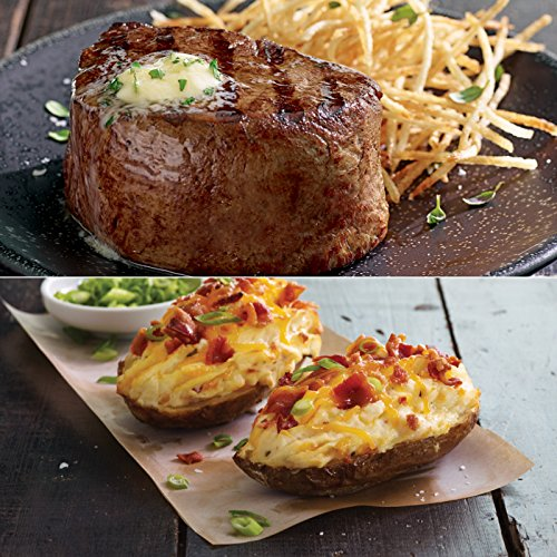 Kansas City Steaks 4 (6oz.) Filet Mignon and 4 (8oz.) Twice Baked (Twice Baked Potato)