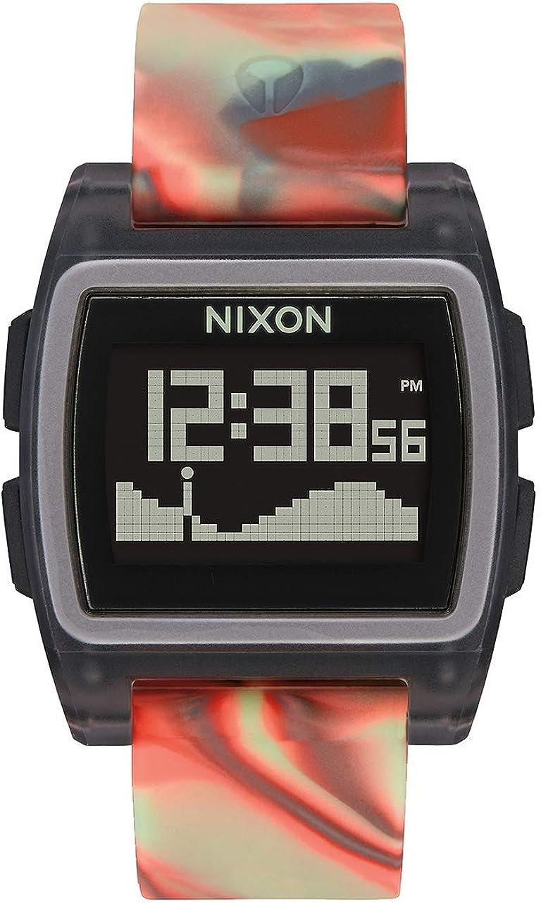 Nixon Reloj Hombre de Digital con Correa en Silicona A1104-3178-00