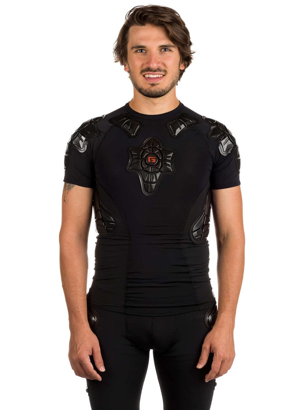 G-Form Pro-X Short Sleeve Compression Shirt, Black, Small