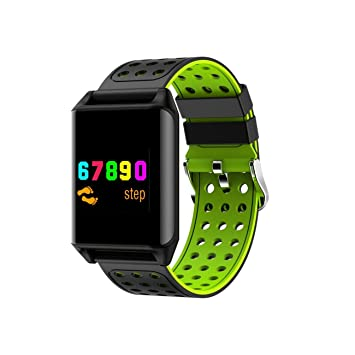 QTEC Smart Watch Pulsera Inteligente Pantalla a Color ...