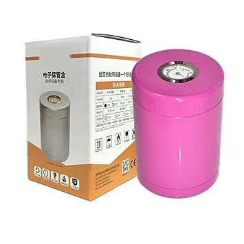 HRRH Audífonos Caja de secado electrónica - Secador coclear electrónico a prueba de humedad Deshumidificación física segura y efectiva, Pink: Amazon.es: ...