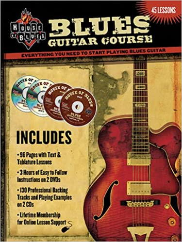 Blues Guitar Course (House of Blues Presents): Amazon.es: McCarthy ...