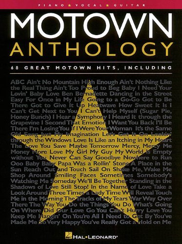 Motown Anthology: Piano, Vocal, ()