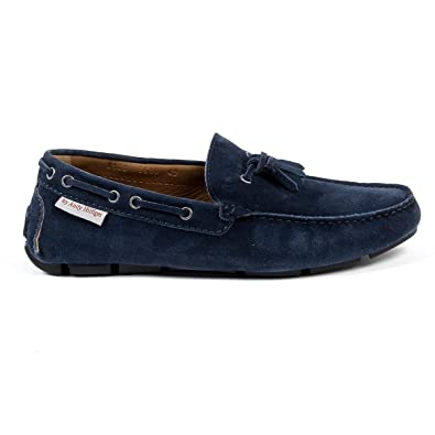 Andrew Charles Mens Loafer Blue Jeremy