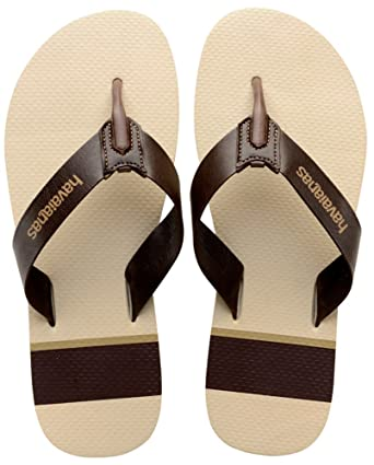 6752df7ecbbd3 Image Unavailable. Image not available for. Color  Havaianas Urban Craft  Leather Mens Sandals Brown