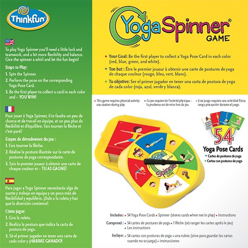 Think Fun Yoga Spinner Yoga Game for Kids Age 5 and Up - Award Winning Game for Yoga Loving Parents and their Kids by Think Fun (Image #3)