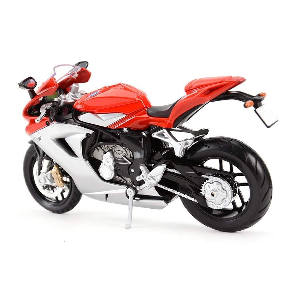 Maisto 1//12 Moto Mod/èle Moto Balance Augusta MV F3 Route Locomotive Dirt Bike Motocross Diecast /& V/éhicules en M/étal Mod/èle De Voiture Jouet V/éhicule Mod/èle Simulation
