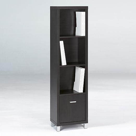 Closet Norte - Estantería modelo Verona de 4 baldas + 1 ...