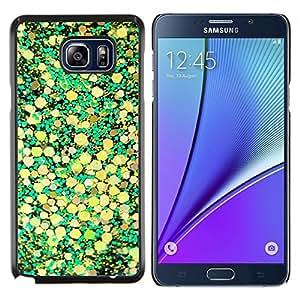 Planetar® ( Hojas amarillas de la naturaleza Diseño ) Samsung Galaxy Note 5 5th N9200 Fundas Cover Cubre Hard Case Cover