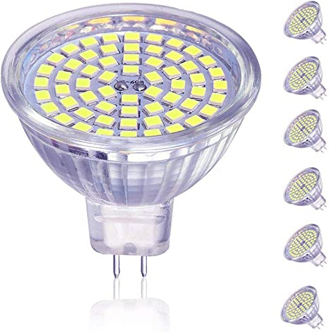Amazon.com: MR16 60SMD LED LAMP Cup, 5.00watts, 12.00 volts ...