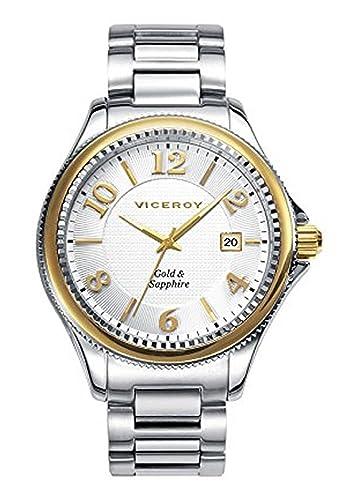 Reloj Viceroy Hombre 47887-99 Oro 9K Colección Penélope Cruz: Amazon.es: Relojes