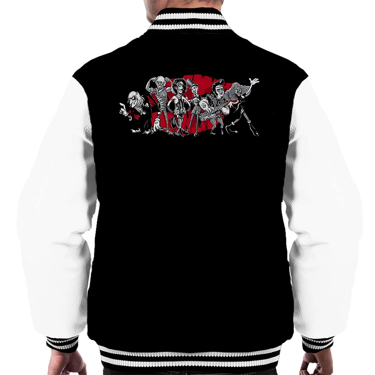 Rocky Horror Picture Show Gang Of Six Men's Varsity Jacket