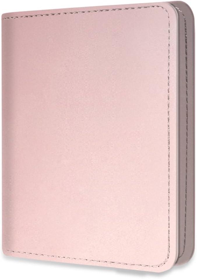 Fintie Mini Photo Album for Fujifilm Instax 3-Inch Film- 104 Pockets Album for Fujifilm Instax Mini 11 Mini 9 Mini 8 Mini 90 Mini 25 Mini Link Printer Mini LiPlay, Polaroid Snap PIC-300, Rose Gold