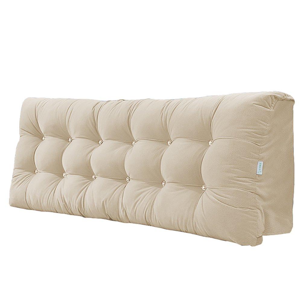 ベッドクッション大きい背もたれ枕がBedhead布Bedheadカバーベッドサイドソフトバッグ120 cm 150 cm 180 cm 200 cm 150 * 58 * 15cm B07FXSSCNV  150*58*15cm
