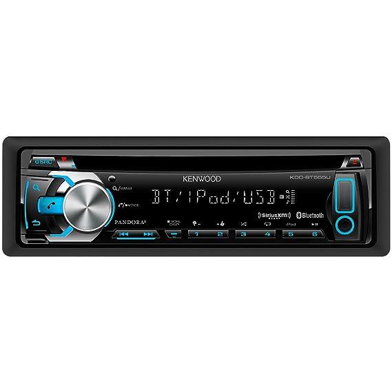 amazon com kenwood kdc bt555u in dash cd mp3 usb car stereo Kenwood Amplifier Wiring Diagram image unavailable