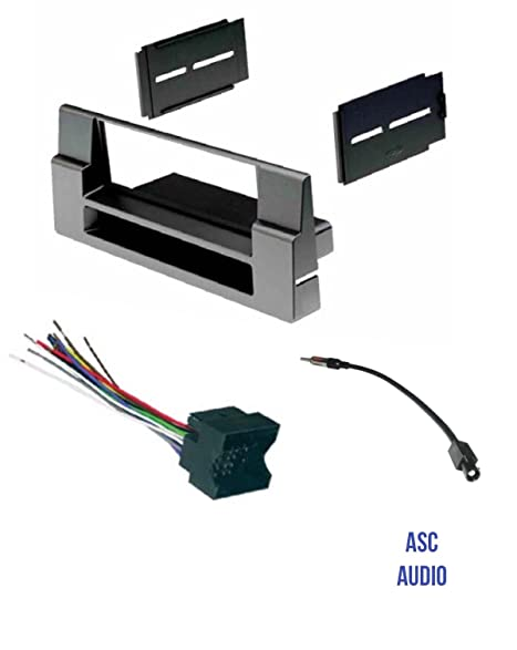 amazon com asc car stereo install dash kit wire harness and rh amazon com