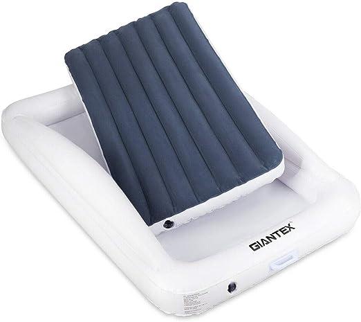 Amazon.com: Giantex cama de viaje inflable para niños con ...