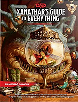 Xanathar's Guide to Everything Hardcover Book